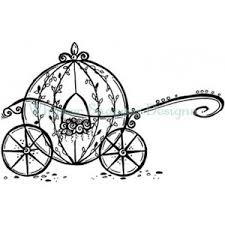 cinderella u0027s carriage angels fairies rubber stamps shop