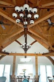 timber frame great room lighting compound joinery timber frame great room of cherry and walnut