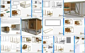 Blueprints Free by Chicken Coop Blueprints And Plans With Chicken Coop Inside Shed