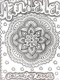 mendi coloring pages mandalas henna style coloring book to color