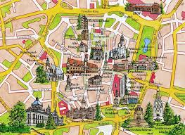 map of leipzig leipzig 2000 our lives in europe
