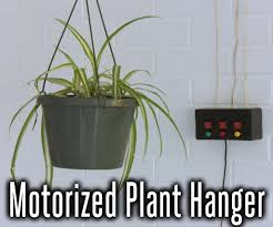 motorized halloween props motorized system for raising and lowering hanging plants 13 steps