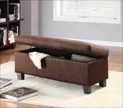 Wicker Storage Ottoman Furniture Wonderful Small Round Upholstered Ottoman Home Goods