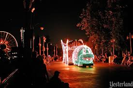 disney electric light parade yesterland disney s electrical parade