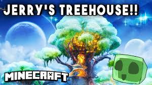 captainsparklez garage minecraft skyscrapers epic treehouse captainsparklez jerry u0027s