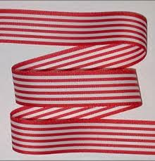 striped grosgrain ribbon white stripes grosgrain ribbon striped christmas 4th of july