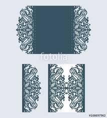 laser cut pattern beautiful laser cut invitation card for wedding