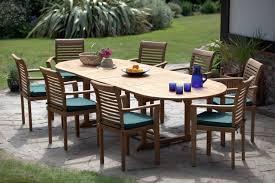 8 seat patio table deauville teak garden furniture set humber imports