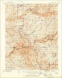 Usgs Topographic Maps Scan Of The 1909 Usgs Quadrangle Of The Yosemite California Area
