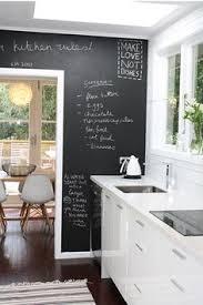 chalkboard in kitchen ideas elle décor showhouse miami chalkboard wall metro swivel ls