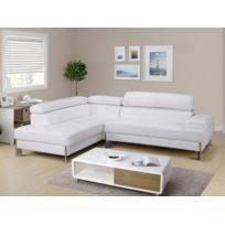 canapé d angle blanc cuir canape angle cuir blanc achat canape angle cuir blanc pas cher