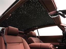 bentley wraith interior rolls royce starlight headliner 12 000 option makes a fiber