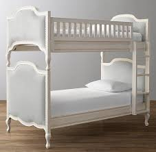 And Gray Upholstered Bunk Bed - Upholstered bunk bed