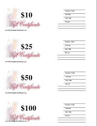 gift certificate printing best 25 blank gift certificate ideas on free gift