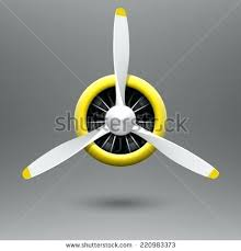 airplane ceiling fan ceiling fan vintage aircraft propeller with radial engine vector