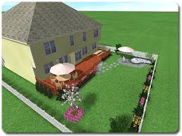 Landscaping Ideas For A Sloped Backyard Sloping Yard Design Tutorial For Realtime Landscaping Pro