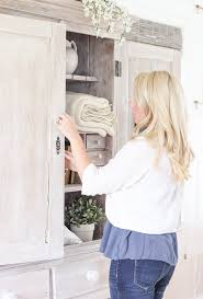 best way to whitewash kitchen cabinets armoire makeover whitewashing tutorial grows