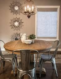 table ronde et chaises salle a manger table ronde table rallonge maisonjoffrois