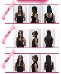 catwalk hair extensions s noilite 24 inches 60cm clip in hair extensions wavy