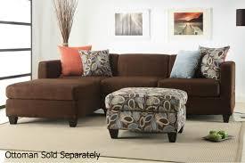 maribel brown fabric sectional sofa steal a sofa furniture