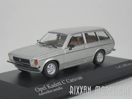 opel kadett 1978 minichamps 1 43 diecast 1978 opel kadett c caravan in silver