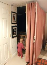 Curtain Wire Room Divider Interior Sliding Doors Room Dividers Create A Dark Sleeping Nook