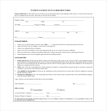 11 payment agreement templates u2013 free sample example format