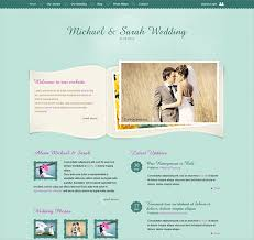 registry wedding website this wedding website template offers page layouts