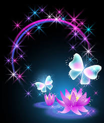 beautiful butterflies with flowers vector background 02 vector