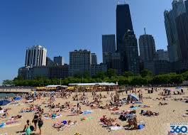 Chicago Beaches Map by Oak Street Beach Best Beach In Chicago