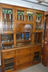 antique built in china cabinet built in china cabinet