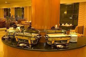 Restaurant Buffet Table living room amir suites picture of harbour bay amir batu ampar