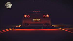 Nissan Gtr Back - cgi nissan gt r cgi