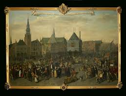 De Flag Europe What Is The Flag In This 17th Century Painting History