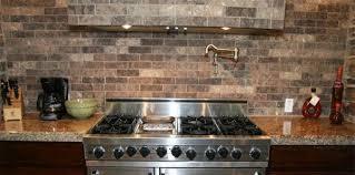 brick tile kitchen backsplash faux brick tile backsplash in the kitchen brick tile backsplash
