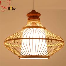 Wooden Pendant Lights Modern Wooden Pendant Lights Japanese Style Knitted
