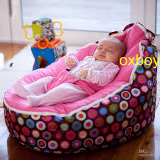 Toddler Reclining Chair 2018 Stylish Bubbles Pink Seat Baby Beanbag Chair New Born Baby
