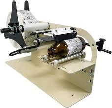 manual label applicator machine take a label tal 1100mr manual round product label applicator