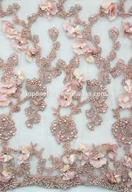 elegant design high quality embroidery lace fabric dubai bridal