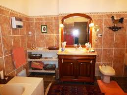 Brown Bathroom Ideas Gorgeous 30 Orange And Brown Bathroom Decor Decorating Design Of