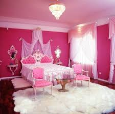 pink room pink bedroom with glass table room decor and design