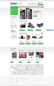website design 42082 home electronic store custom template online