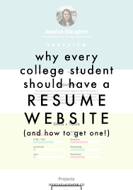 website resume examples resume on website resume website examples pro cv template what why every college student should have a resume website jessica