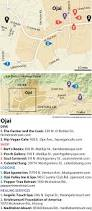 Ojai California Map Ojai A Working Vacation For The Mind Body And Spirit The