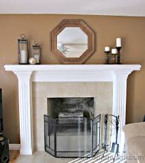inspiring simple fireplace mantel ideas pictures design
