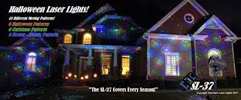 House Christmas Light Projector by Spectrum Laser Lights High Definition Laser Christmas Lights