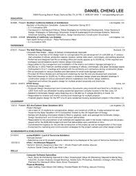 Leadership Resume Examples Architecture Resume Experience Leadership And Skills Writing