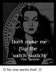Make Memes For Free - don t make me flip the witch switch free spirited d no one wants