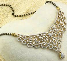 diamonds gold necklace images 68 best diamond mangalsutra images diamond jpg
