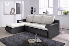 Light Sofa Bed Left Corner Sofa Bed Santi In Light Grey U0026 Black